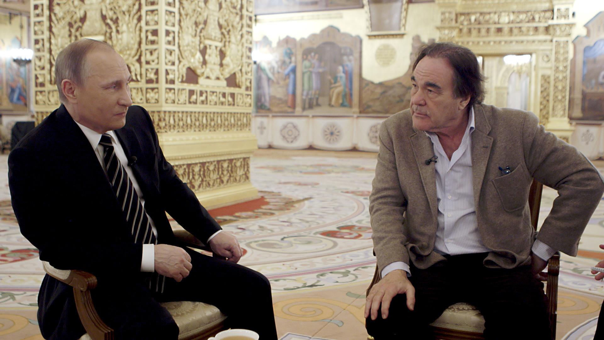 Oliver Stone e Putin